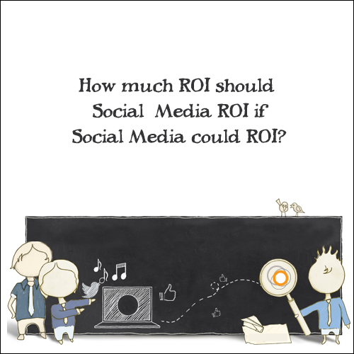 How Much ROI Should Social Media ROI If Social Media Could ROI?