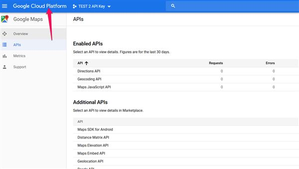 Changes to Google Maps API